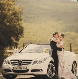 Свадебный кабриолет