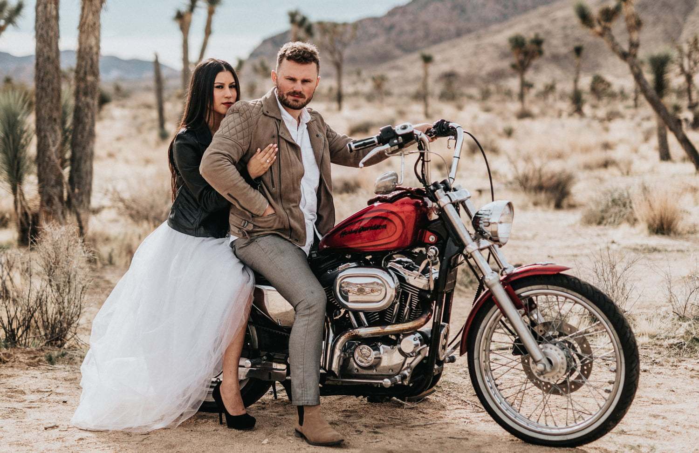 Аренда свадебного мотоцикла