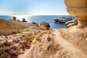 пляж святого георгия в пафосе