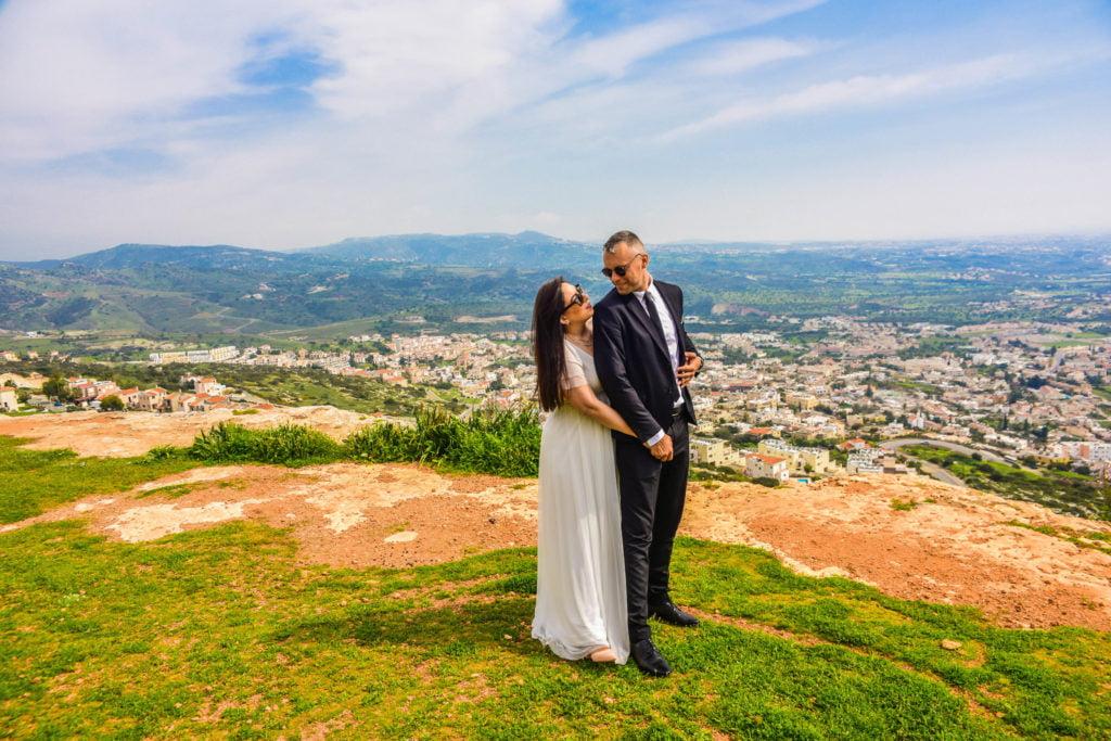 Свадьба для двоих на Кипре