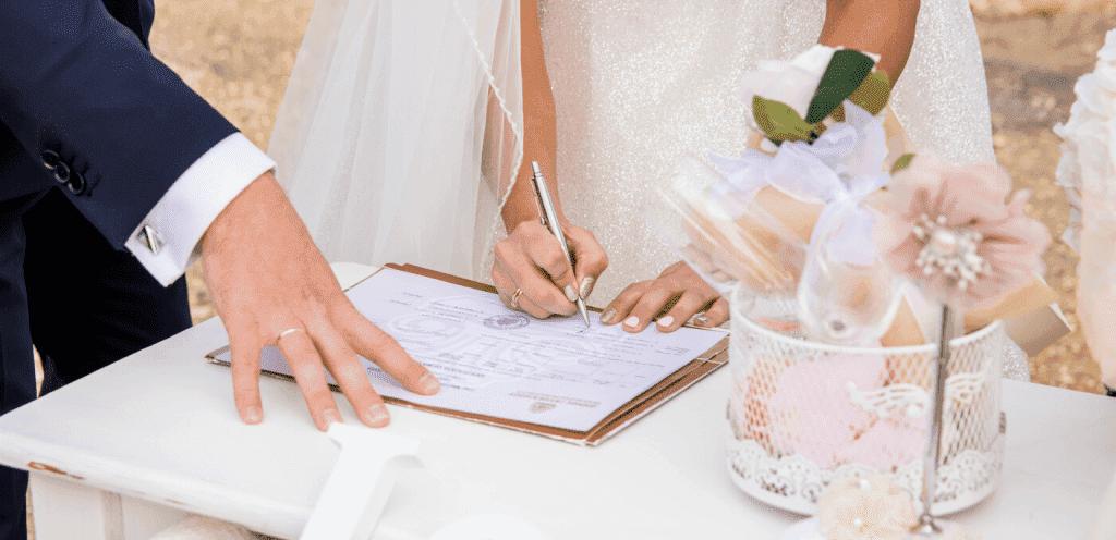 Документы для оформления свадьбы на Кипре