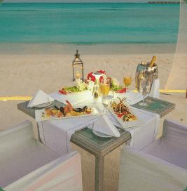 Ужин на берегу моря