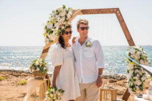 Официальная свадьба пляж